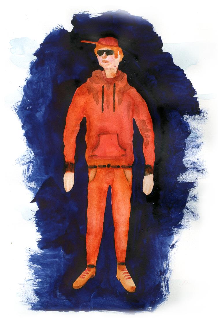 Eli. Skiss av Albin Werle