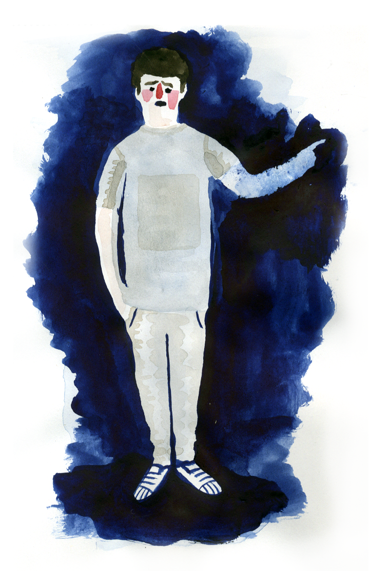 Milo. Skiss av Albin Werle