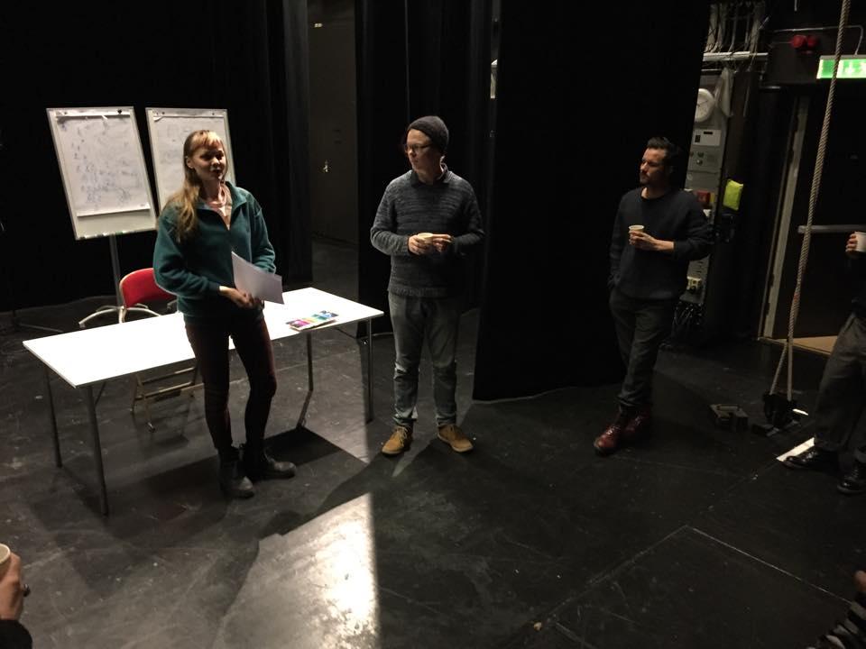Workshop på Riksteatern